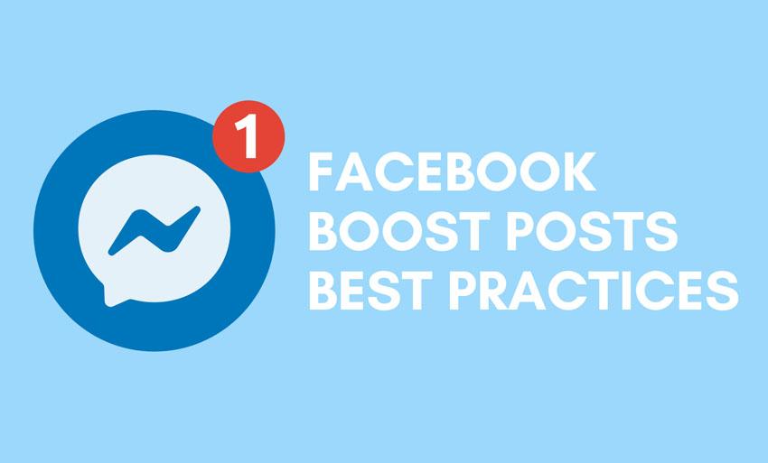 facebook boost posts best practices
