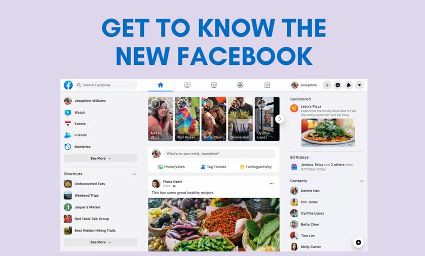 2020 facebook updates