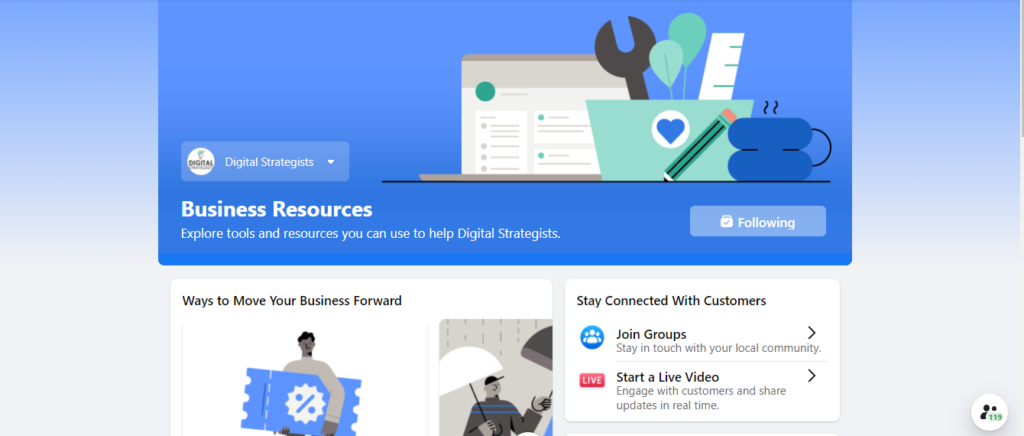 new facebook resources and tools