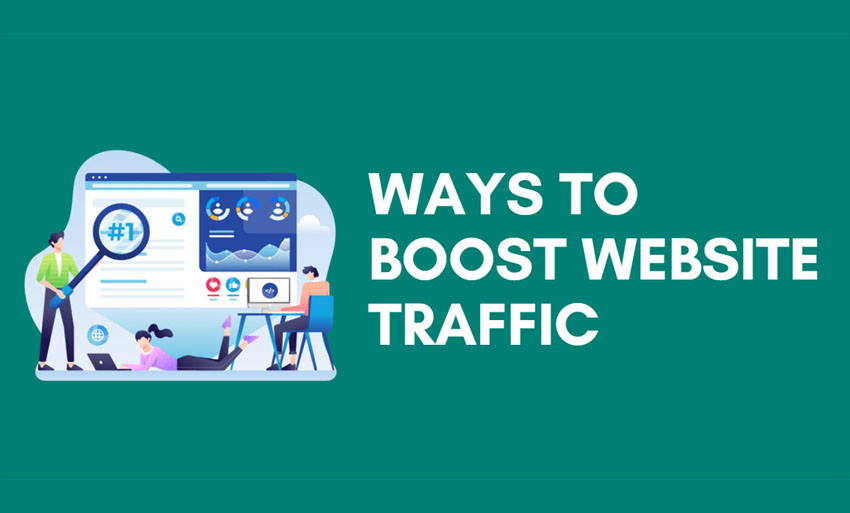 how to increase my website traffic
